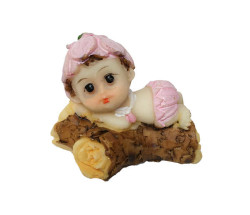 - Ağaç Üstünde Bebek PEmbe Biblo