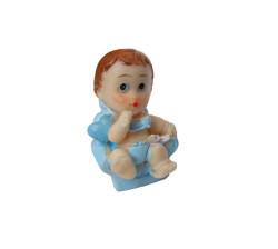 - Koltukta Oturan Mavi Bebek Biblo