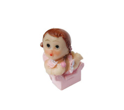 - Koltukta Oturan Pembe Bebek Biblo