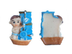 - Teknede Bebek Mavi Biblo