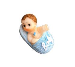 Terlikli Bebek Mavi Biblo - Thumbnail