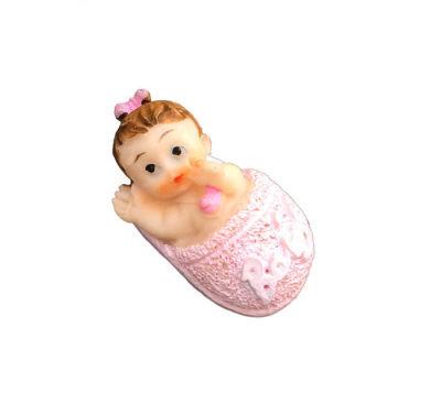 Terlikli Bebek Pembe Biblo