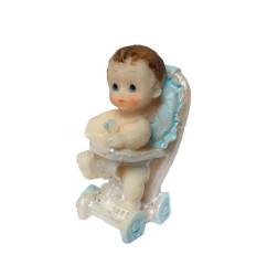 - Yürüteçte Bebek Mavi Biblo