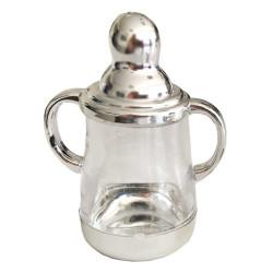 - Biberon Parlak Gümüş