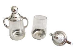 Biberon Parlak Gümüş - Thumbnail