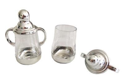 Biberon Parlak Gümüş