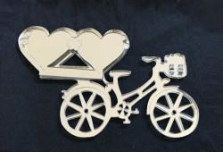 - Kalpli Bisiklet Pleksi Gümüş