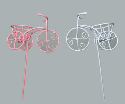 - Çubuklu Sepetli Bisiklet Pembe