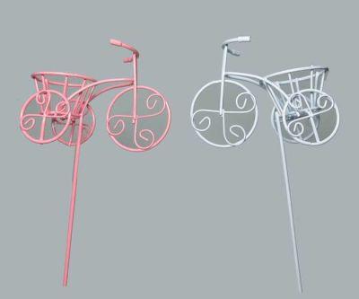 Çubuklu Sepetli Bisiklet Pembe