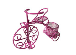 - Sepetli Tel Bisiklet Fuşya
