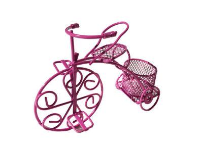 Sepetli Tel Bisiklet Fuşya