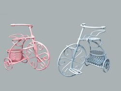 - Sepetli Tel Bisiklet Mavi