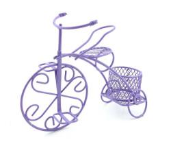 - Sepetli Tel Bisiklet Mor