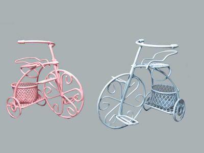Sepetli Tel Bisiklet Pembe