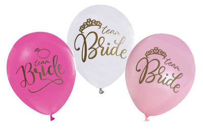 Bride To Be Baskılı Balon 12 inç (25x30 cm) 100'lü Paket