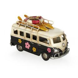 Camper Van Classic Papatyalı Vosvos Minibüs - Thumbnail