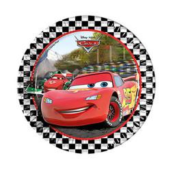- Cars Formula Karton Tabak (23 cm) 8'li Paket