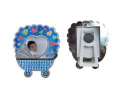 - Hoşgeldin Bebek Plastik Puset Çerçeve Mavi