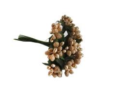 - Çiçek Cipso Görünümünde Altın