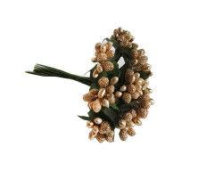 Çiçek Cipso Görünümünde Altın