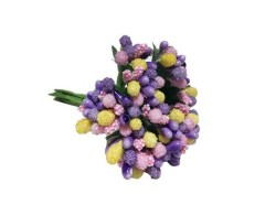 - Çiçek Cipso Görünümünde Karışık Renk