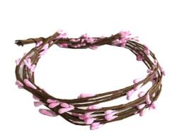 - Çiçek Cipso Pembe 65 cm