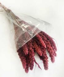 - Doğal Steria Boncuk Pembe Çiçek 100 Gr.
