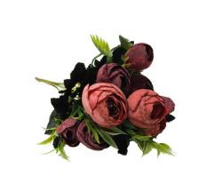 - Çiçek El Buketi Şakayık Modeli Kırmızı
