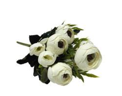 - Çiçek El Buketi Şakayık Modeli Krem