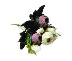 - Çiçek El Buketi Şakayık Modeli Lila