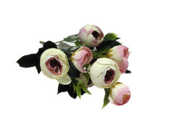 - Çiçek El Buketi Şakayık Modeli Pembe