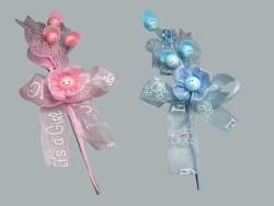 - Çiçek Hazır Ürün Süslenmiş Mavi