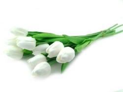 - Çiçek Islak Lale Beyaz