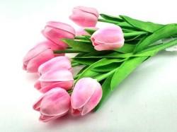 - Çiçek Islak Lale Pembe
