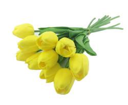 - Çiçek Islak Lale Sarı