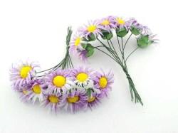 - Çiçek Papatya Mor