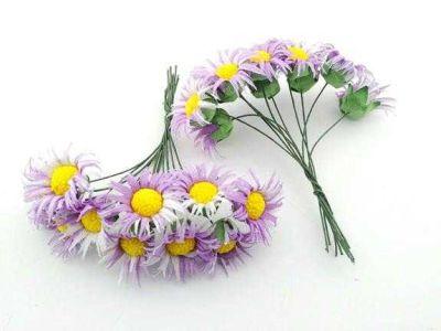 Çiçek Papatya Mor