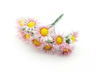 Çiçek Papatya Pembe