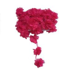 - Çiçek Tül Laz.Kes.Büyük Fuşya P10yard(120çiçek)