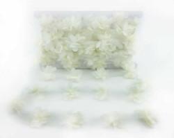 - Çiçek Tül Laz.Kes.Büyük Krem P10yard(120çiçek)