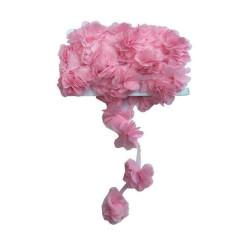 - Çiçek Tül Laz.Kes.Büyük Pembe P10yard(120çiçek)