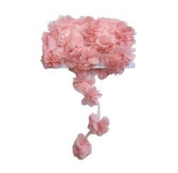 - Çiçek Tül Laz.Kes.Büyük Pudra P10yard(120çiçek)