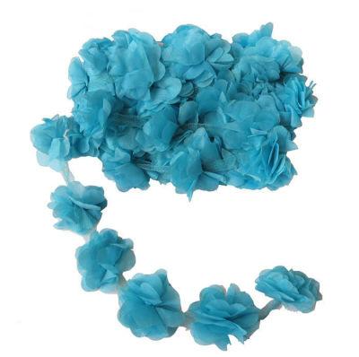 Çiçek Tül Laz.Kes.Büyük Turkuaz P10yard(120çiçek)