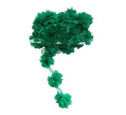 - Çiçek Tül Laz.Kes.Büyük Yeşil P10yard(120çiçek)