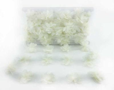 Çiçek Tül Laz.Kes.Küçük Krem P10yrd