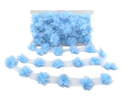 Çiçek Tül Laz.Kes.Küçük Mavi P10yrd