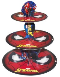 - Spiderman Cupcake Standı
