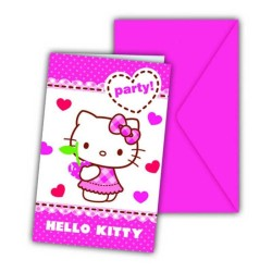 - Hello Kitty Hearts Davetiye