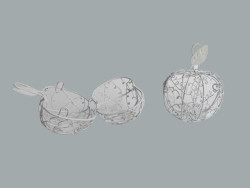 - Elma Kutu Telden Beyaz