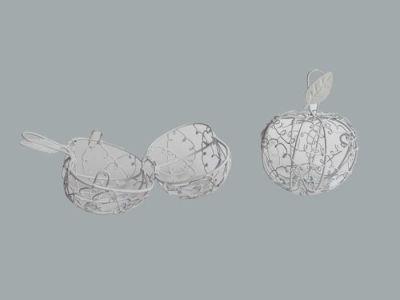 Elma Kutu Telden Beyaz